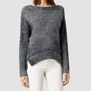 All Saints Mesa Merino Wool Sweater, Size M